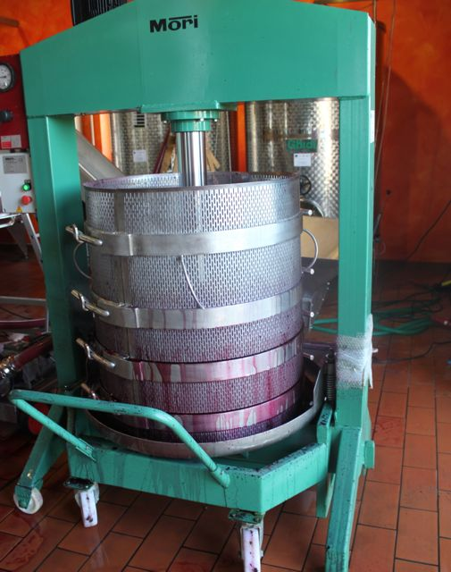 winemaking processes